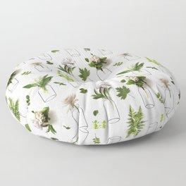Garden Greens Floor Pillow