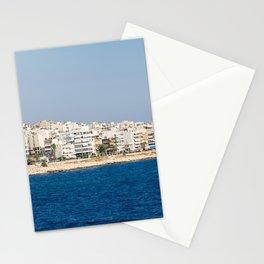 Mediteranian sea Stationery Cards