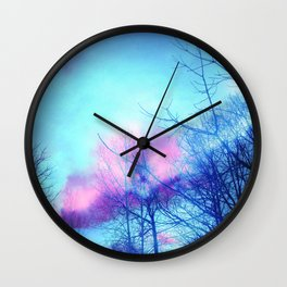Listening to the Wind Wall Clock