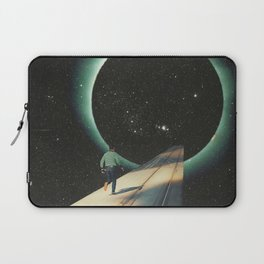 Escaping into the Void Laptop Sleeve
