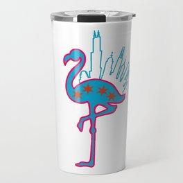Bird In Da Big City Travel Mug