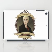 buffy the vampire slayer iPad Cases featuring Spike - Buffy the Vampire Slayer/Angel by muin+staers