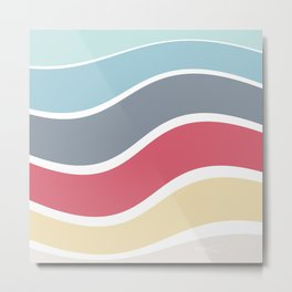 colorwave Metal Print