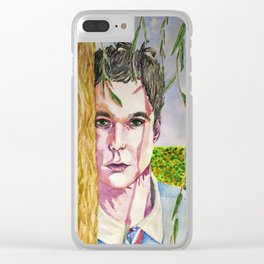 Spring road: Jim Parsons Clear iPhone Case