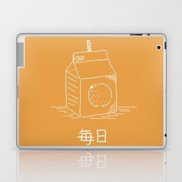 Orange Juice (mainichi) Laptop & iPad Skin