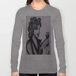 Hollywood Wine Long Sleeve T-shirt