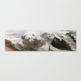 The alps Canvas Print