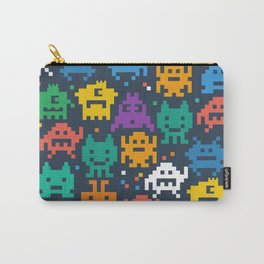 Monster Pixels Carry-All Pouch