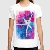 ballerina T-shirts featuring Ballerina by Slaveika Aladjova