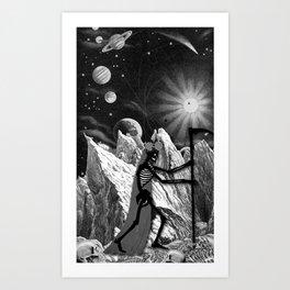 THE DEATH MAJOR ARCANA Art Print