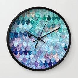 SUMMER MERMAID II Wall Clock