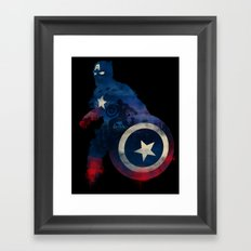 For Truth And Justice Framed Art Print