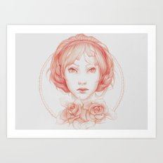 Simple Portrait Art Print