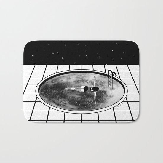 Pool Moon Bath Mat