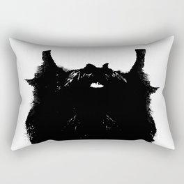 Bearded Distraction Rectangular Pillow