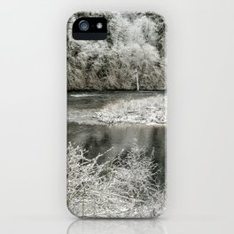 Late Winter's Snow iPhone Case