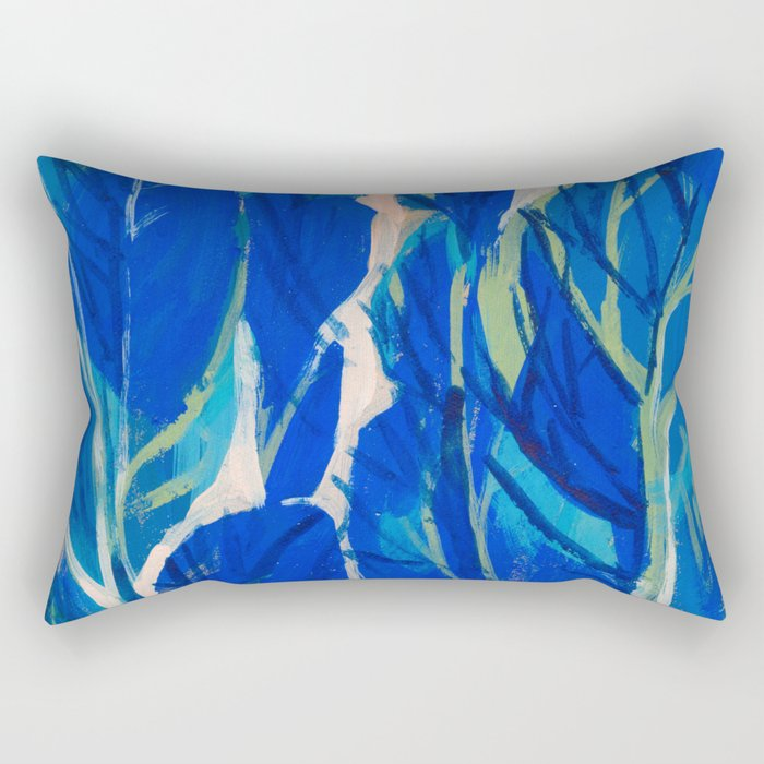 Poplars Rectangular Pillow
