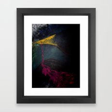 quoth the raven Framed Art Print