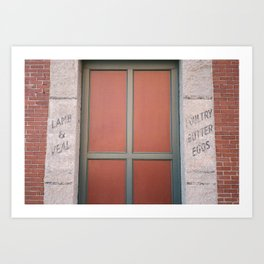 Portland Maine Building Art Print