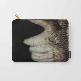 Flesh and Bone Suspended ~ Vertical Image Carry-All Pouch