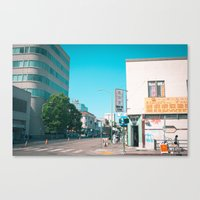 oakland Canvas Prints featuring Chinatown, Oakland by Peter J. Nelson