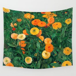 Marigolds by Koloman Moser, 1909 Wall Tapestry