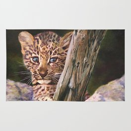Leopard Baby Wild Things Rug