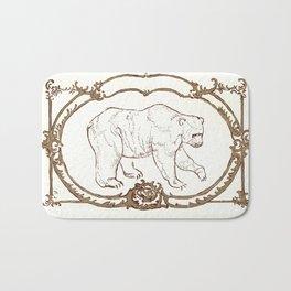 Bear Vignette Bath Mat