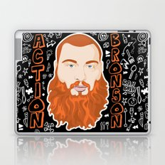 Action Bronson Portrait Laptop & iPad Skin