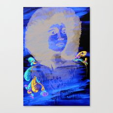 Black Power Canvas Print