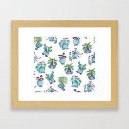 All Plant Bois Framed Art Print