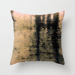 Black spot Throw Pillow