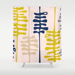 Abstract jungle Shower Curtain