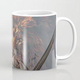 Templar Knight and Lion Coffee Mug