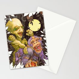 Alien & Ape (True Love) Stationery Cards