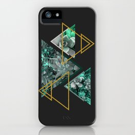 Gloomy Succulents #society6 #decor #buyart iPhone Case