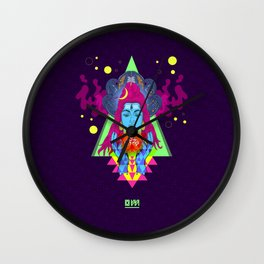 Om (Trance Edit) Wall Clock