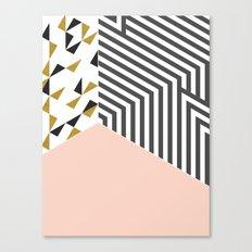 Pink&Gold Room #society6 #decor #buyart Canvas Print