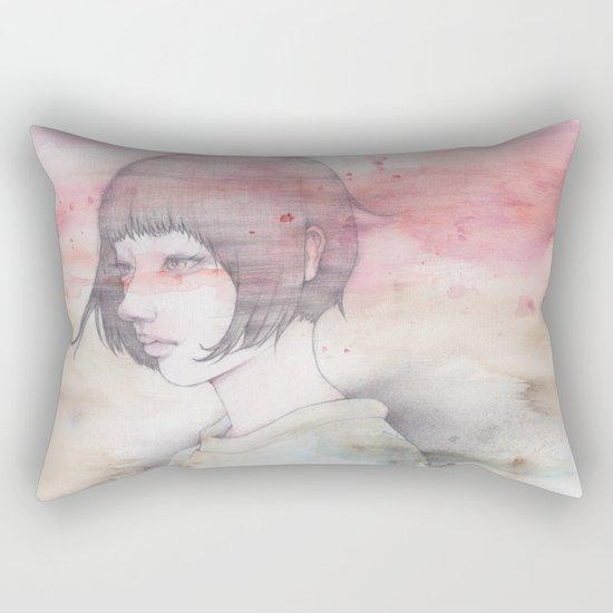 a transparent moment Rectangular Pillow