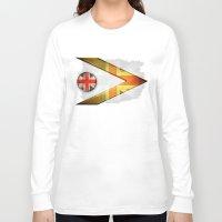 british flag Long Sleeve T-shirts featuring British by ilustrarte