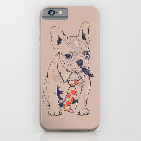 FRENCH BULLDOG BOSS iPhone & iPod Case