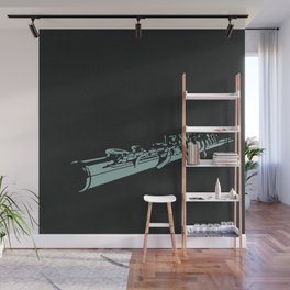 Flute Stamp Wall Mural