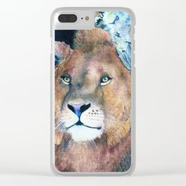 Ever Watchful by Maureen Donovan Clear iPhone Case