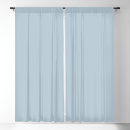 Dark Powder Blue Pairs With Pantone's 2020 Forecast Trending Color Baby Blue  13-4308 TCX Blackout Curtain
