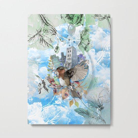 SOFT NATURE Metal Print