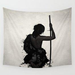 Female Samurai - Onna Bugeisha Wall Tapestry