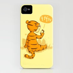 Ta Ta For Now iPhone (4, 4s) Slim Case