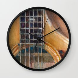 Taylor Acoustic Guitar Wall Clock