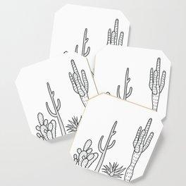 Cactus illustration Coaster