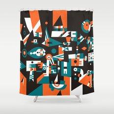 Schema 1 Shower Curtain